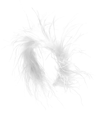 Alessandra Rich - Feather-trimmed hairband - mytheresa.com