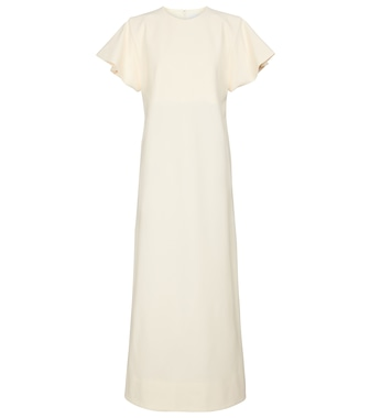 Jil Sander - Stretch-crêpe maxi dress - mytheresa.com