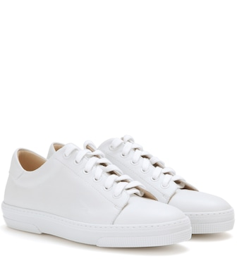 A.P.C. - Steffi leather sneakers - mytheresa.com