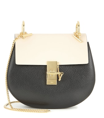 Chloé - Drew leather shoulder bag - mytheresa.com