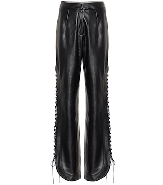 Matériel Tbilisi - High-rise faux leather pants - mytheresa.com