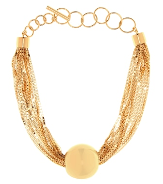 Bottega Veneta - Chain gold-plated necklace - mytheresa.com