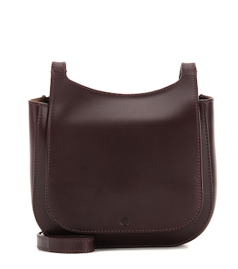 The Row - Leather cross-body bag - mytheresa.com