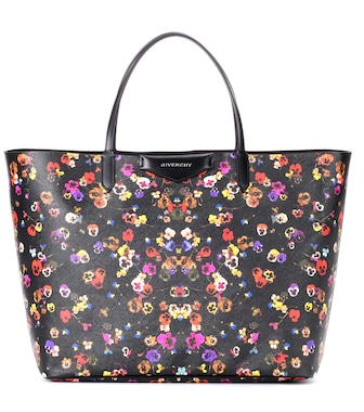 Givenchy - Antigona Large floral-printed shopper - mytheresa.com