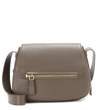 Tom Ford - Jennifer Soft leather shoulder bag - mytheresa.com