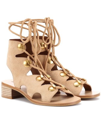 See By Chloé - Edna suede sandals - mytheresa.com