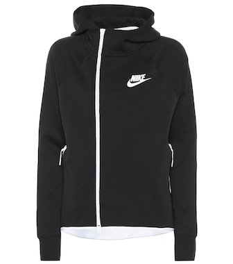 Nike - Sportswear Tech cotton-blend hoodie - mytheresa.com