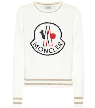 Moncler - Pullover in lana e cashmere - mytheresa.com