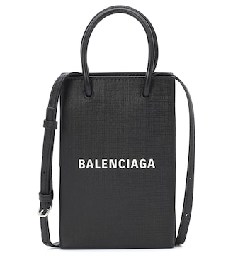 Balenciaga - Shopping Phone Pouch shoulder bag - mytheresa.com