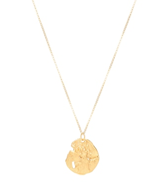 Alighieri - St. Christopher 24kt gold-plated necklace - mytheresa.com