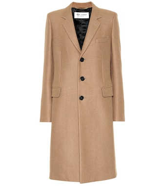 Saint Laurent - Camel coat - mytheresa.com
