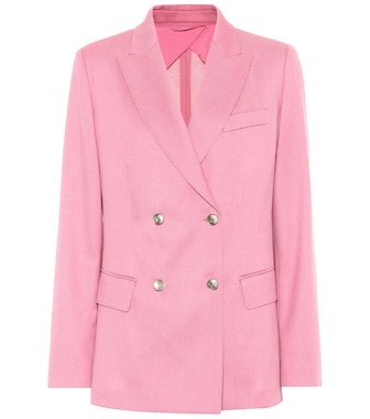 Max Mara - Exclusive to mytheresa.com – Galazia wool twill blazer - mytheresa.com