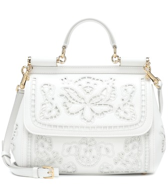 Dolce & Gabbana - Sicily Medium leather shoulder bag - mytheresa.com