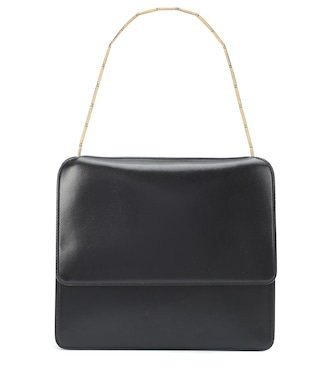 Marni - Cachè leather shoulder bag - mytheresa.com