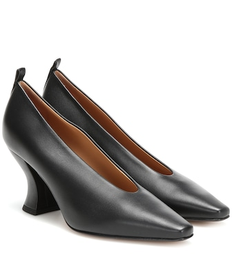 Bottega Veneta - Leather pumps - mytheresa.com