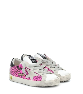 Golden Goose Kids - Superstar snake-print sneakers - mytheresa.com