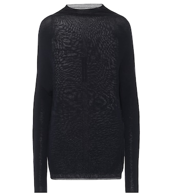 Rick Owens - Crater wool sweater - mytheresa.com