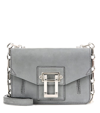 Proenza Schouler - Hava Chain Crossbody suede shoulder bag - mytheresa.com