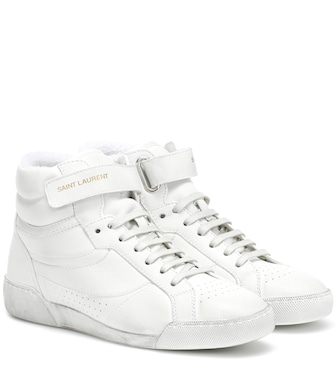 Saint Laurent - Sneakers Lenny in pelle - mytheresa.com