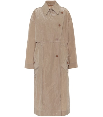 Acne Studios - Technical cotton-blend trench coat - mytheresa.com