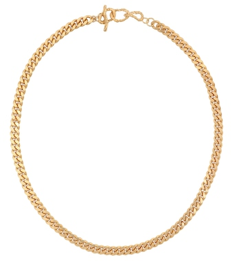 Elhanati - X Man 24kt gold-plated chain necklace - mytheresa.com