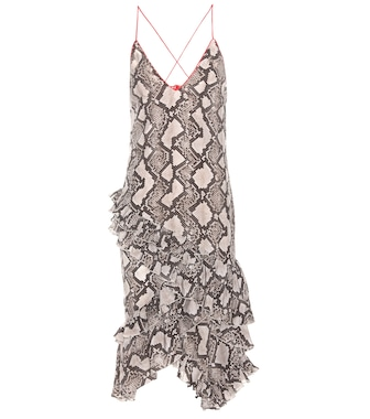 Altuzarra - Printed silk dress - mytheresa.com