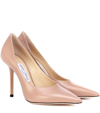 Jimmy Choo - Ava 100 leather pumps - mytheresa.com