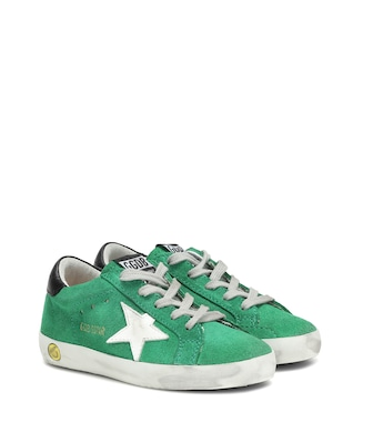 Golden Goose Kids - Superstar suede sneakers - mytheresa.com