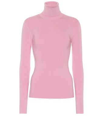 Joseph - Silk-blend turtleneck sweater - mytheresa.com