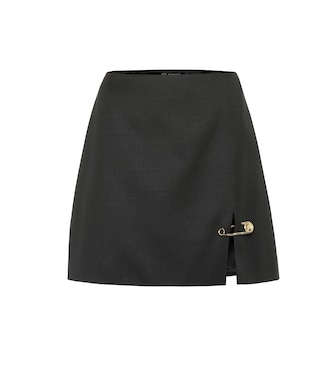 Versace - Safety Pin miniskirt - mytheresa.com