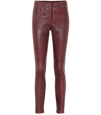 Isabel Marant, Étoile - Iany skinny leather pants - mytheresa.com