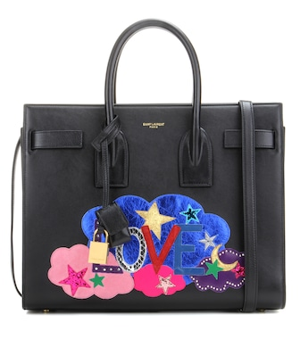 Saint Laurent - Small Sac De Jour leather tote - mytheresa.com