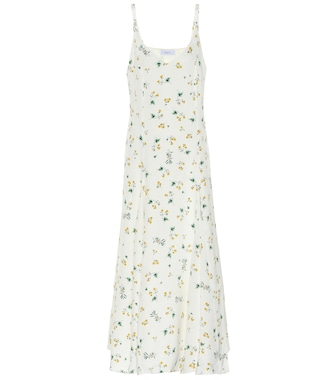 Racil - Ava silk crêpe slip dress - mytheresa.com