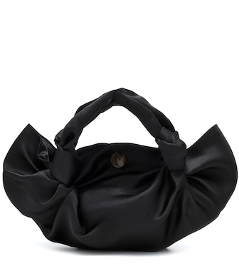 The Row - The Ascot Medium satin tote - mytheresa.com