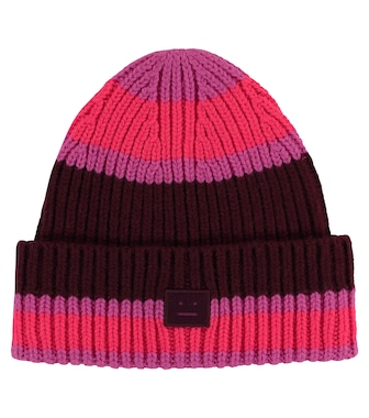 Acne Studios Kids - Striped wool beanie - mytheresa.com