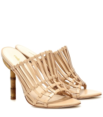 Cult Gaia - Ark leather sandals - mytheresa.com