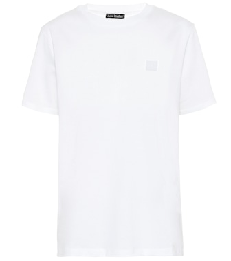 Acne Studios - Face cotton-jersey T-shirt - mytheresa.com