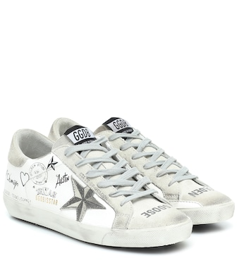 Golden Goose - Sneakers Superstar aus Leder - mytheresa.com