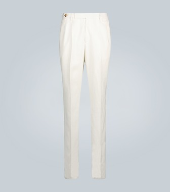 Brunello Cucinelli - Exclusive to Mytheresa – tapered linen pants - mytheresa.com