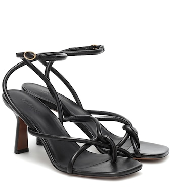 Neous - Alkes leather sandals - mytheresa.com