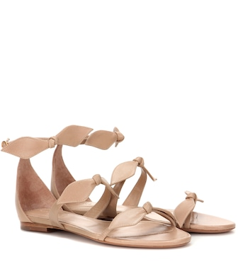 Chloé - Leather sandals - mytheresa.com