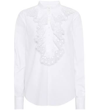 Chloé - Cotton shirt - mytheresa.com