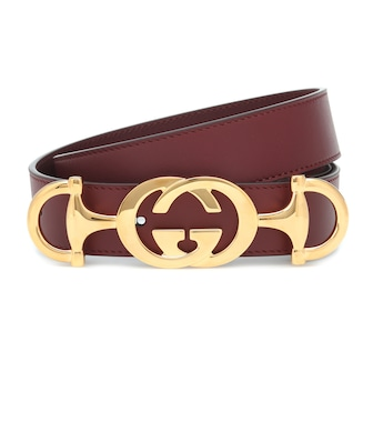 Gucci - Leather belt - mytheresa.com