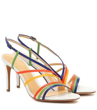 Alexandre Birman - Strappy 75 leather sandals - mytheresa.com