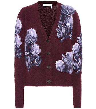 Chloé - Wool and alpaca blend cardigan - mytheresa.com
