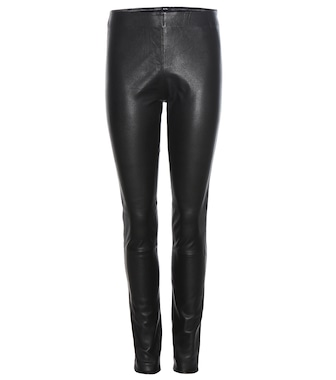 By Malene Birger - Lederleggings Elenasoo - mytheresa.com