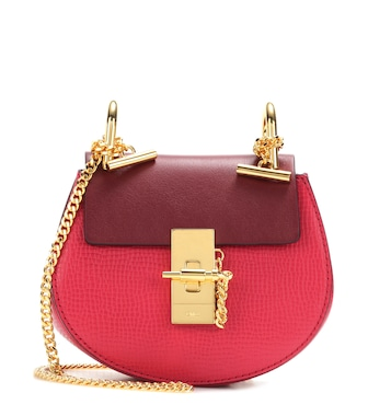 Chloé - Drew Nano leather crossbody bag - mytheresa.com