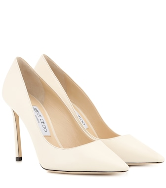 Jimmy Choo - Romy 100 leather pumps - mytheresa.com