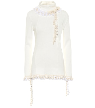 Loewe - Cotton and linen top - mytheresa.com