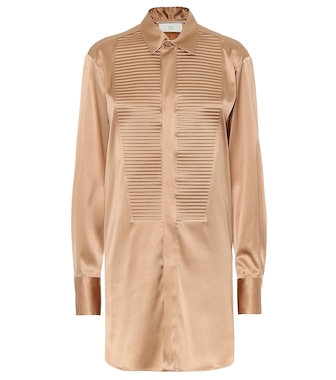 Bottega Veneta - Stretch-silk shirt - mytheresa.com